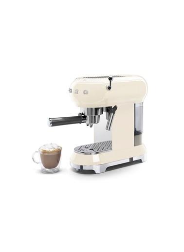 Smeg Smeg Krem Espresso Kahve Makinesi Krem